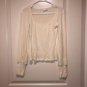 Reformation Ivory Sweater S
